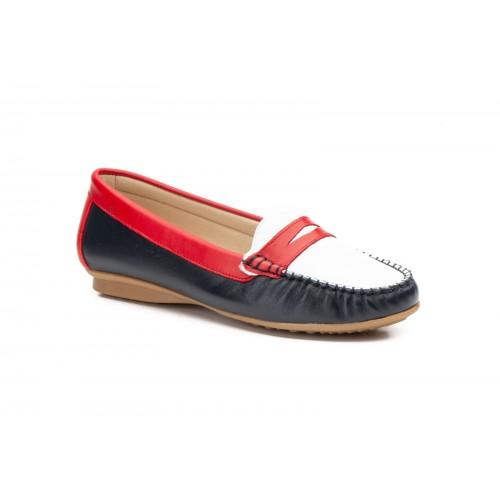Zapato Kiowa Mujer Piel Tricolor
