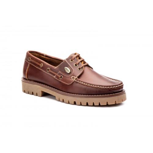 Nautico Brown Leather Man