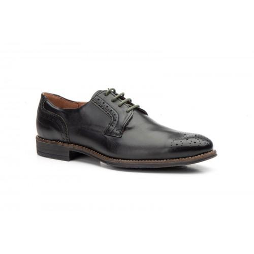 Zapatos Hombre Derby Piel Negro