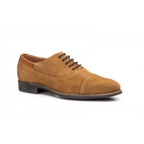 Zapatos Hombre Oxford Piel Cuero