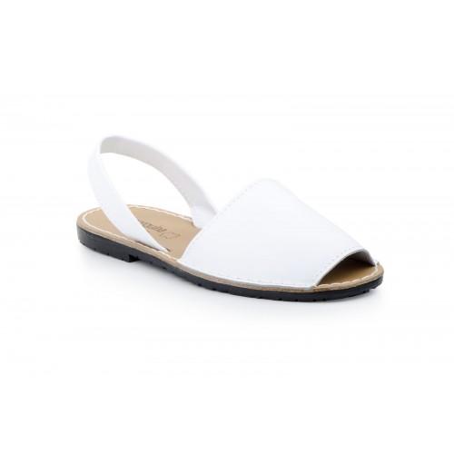 Avarca Menorquina Ibicenca Mujer Blanco