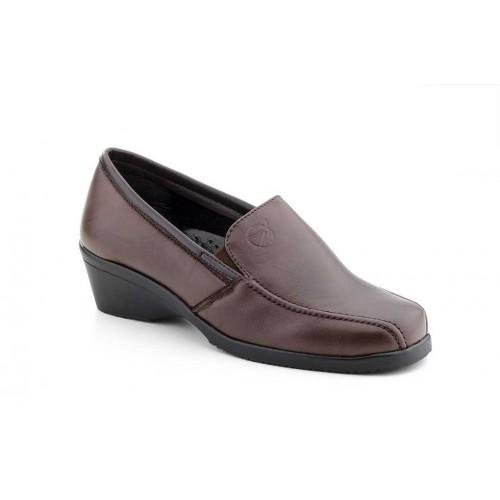 Zapatos  Mujer Piel Elásticos Marrón