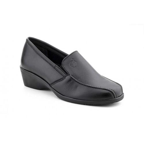 Zapatos  Mujer Piel Elásticos Negro