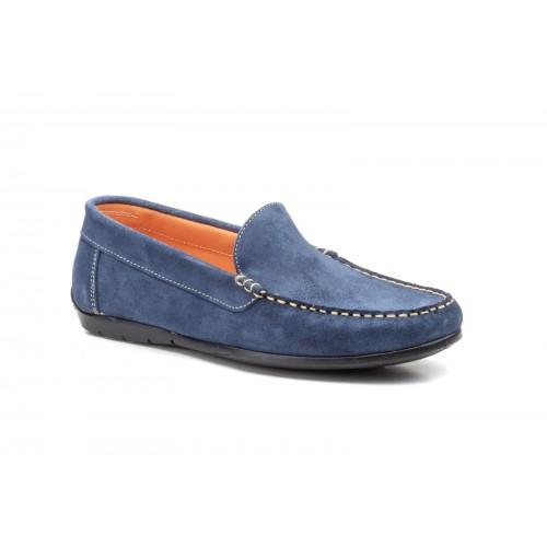 Nautical Kiowa Shoes For Men Iris Split Leather