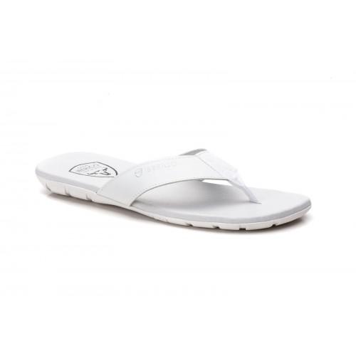 Sandalia para Hombre de Piel Blanco