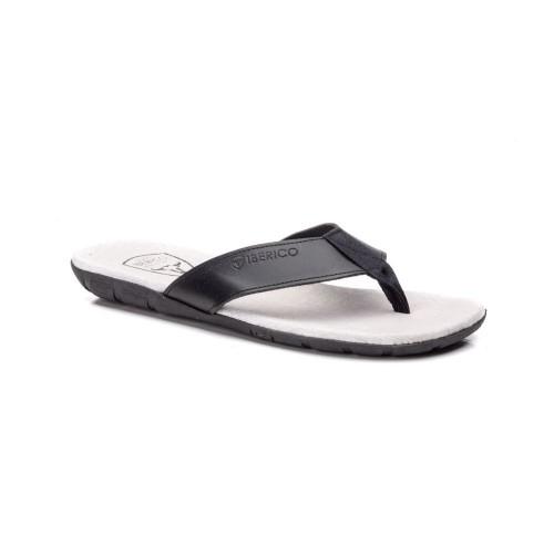 Sandalia para Hombre de Piel Negro