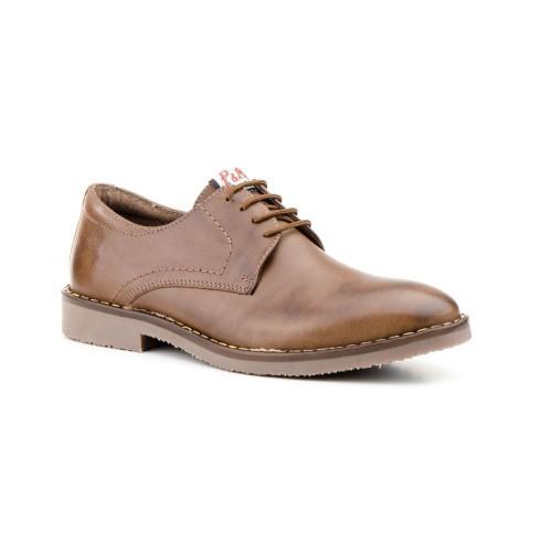Zapatos Hombre Piel Marrón