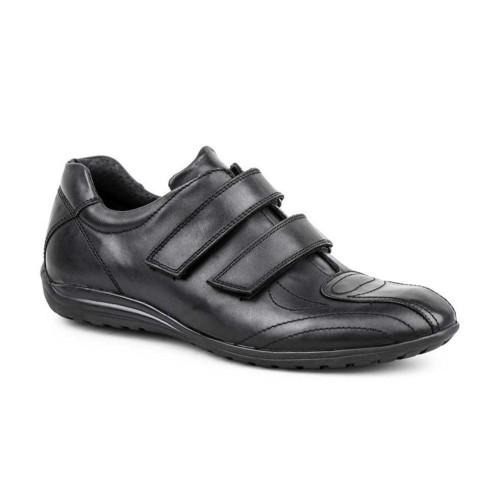 Zapatos Hombre Piel Negro