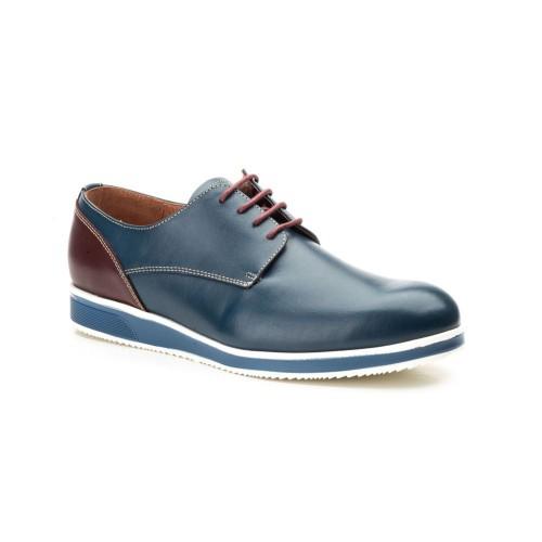 Zapatos Hombre Piel Marino Keelan