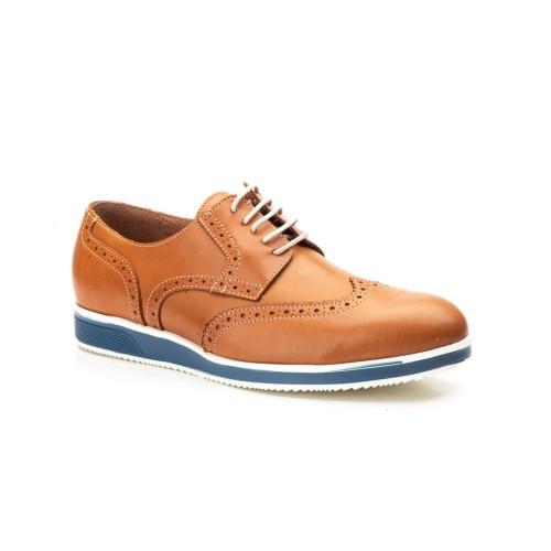 Zapatos Hombre Piel Whisky Camel Keelan